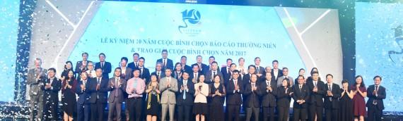 50 doanh nghiệp đạt giải Báo cáo thường niên tốt nhất năm 2017