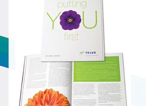 Báo cáo thường niên Telus Corp