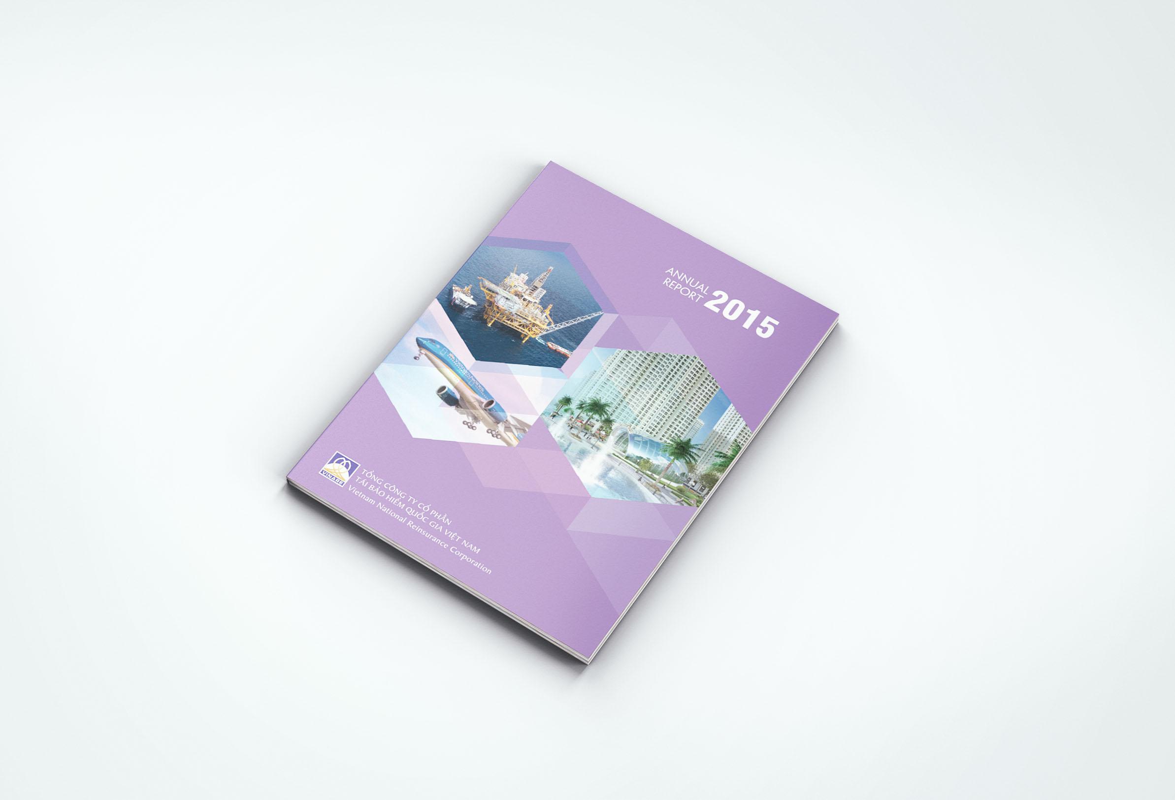 Thiết kế Báo cáo thường niên AR 01