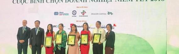 Trao giải Cuộc bình chọn Doanh nghiệp niêm yết năm 2018