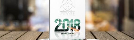Mẫu báo cáo thường niên 2018 của VINARE